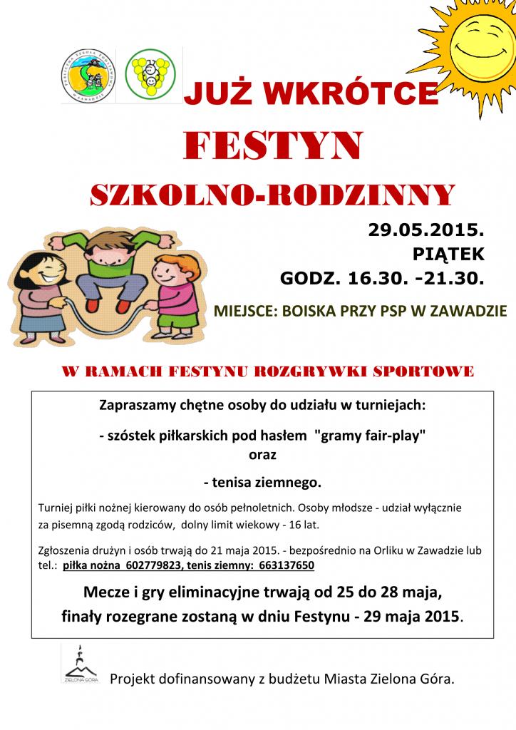 Festyn 2015, sport, zapowiedź-1