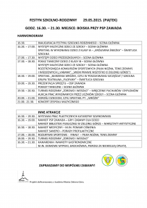 HARMONOGRAM FESTYN 2015-1