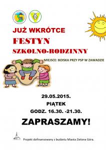 festyn plakat - ZAPOWIEDŹ-1