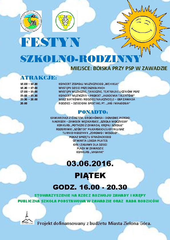 PLAKAT, FESTYN 2016