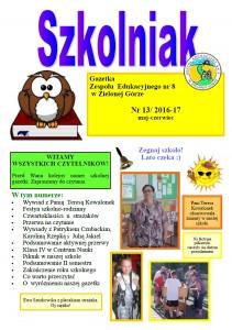 Szkolniak nr 13 2016-17 czerwiec
