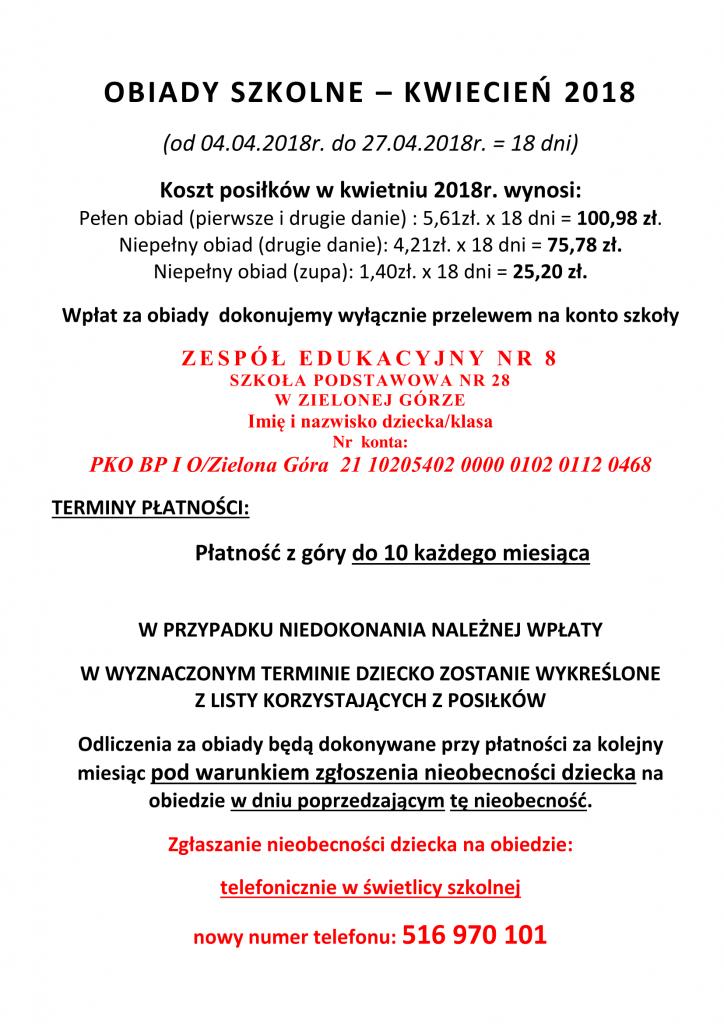 OBIADY SZKOLNE kwiecień 2018-1