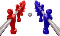 http://www.dreamstime.com/stock-image-foosball-kickoff-top-isolated-image27691451